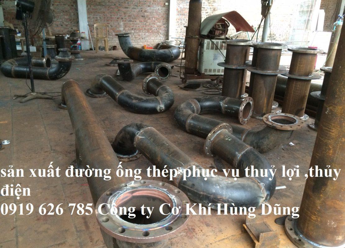 ống thép thủy lợi
