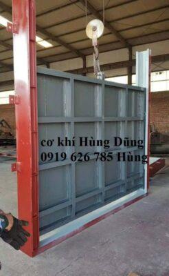 sản xuất cánh cống cửa van ,van cửa phai